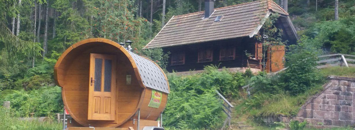 mobile fass sauna proseggo segway touren und events. Black Bedroom Furniture Sets. Home Design Ideas